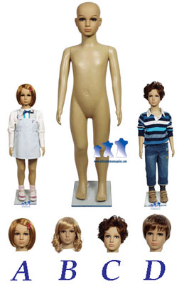 Inflatable Child Mannequins
